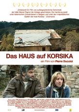 Das Haus auf Korsika_Schwarz Weiss_Plakat