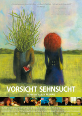 VORSICHT SEHNSUCHT_Schwarz Weiss_Plakat