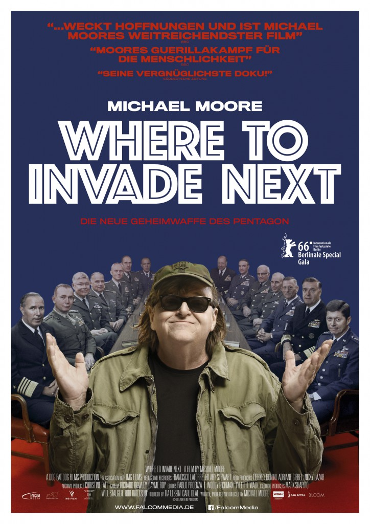 Where to invade next_Falcom_Plakat